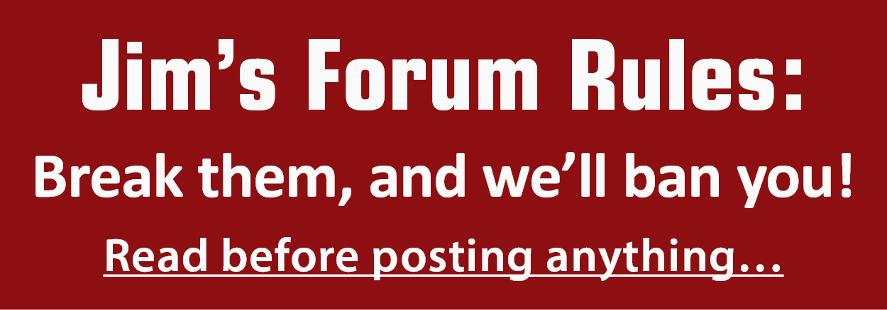 Jim Fink's Forum Rules