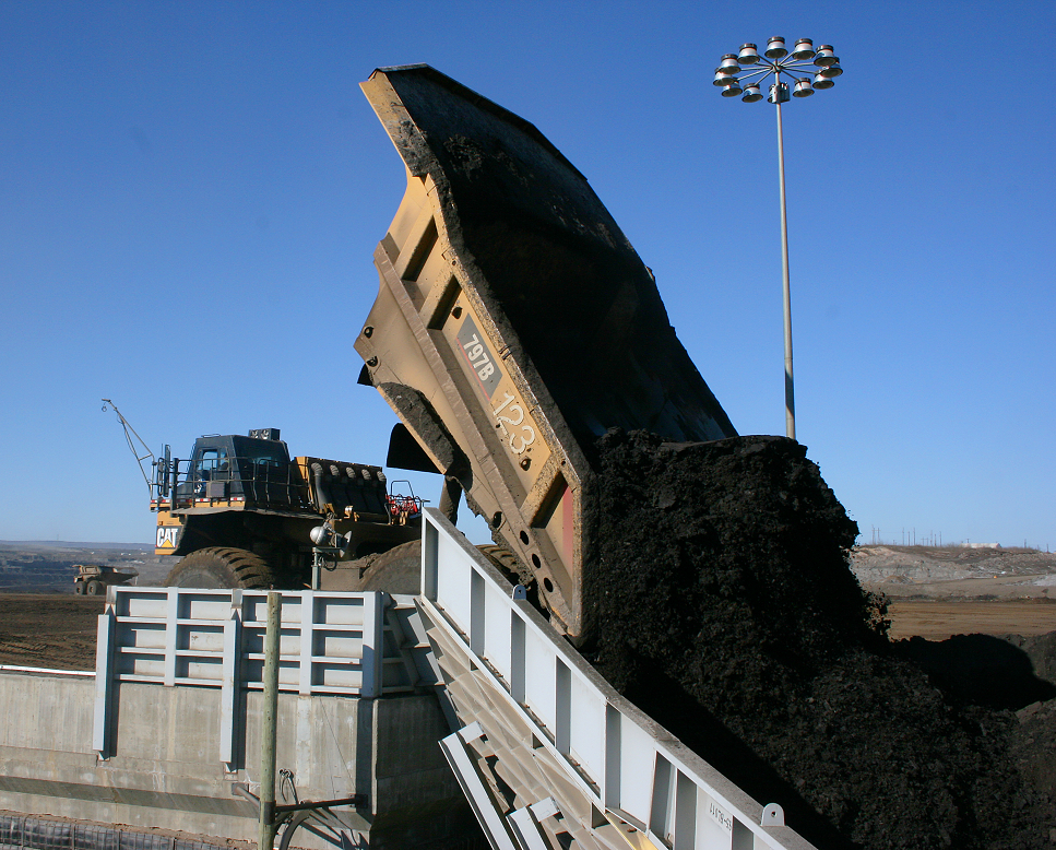 oil sands truck photo