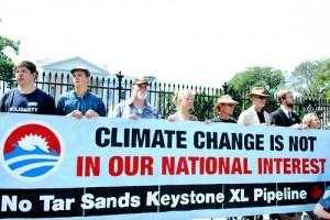 Keystone XL protest photo