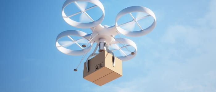 Drones are apart of Amazon's future plans for increased price