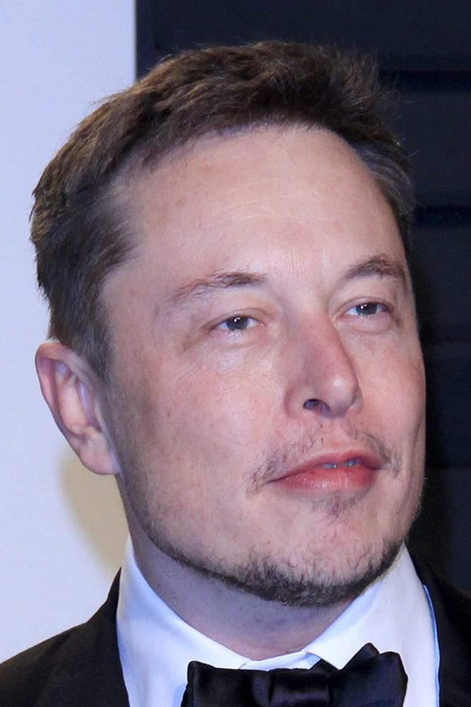 Elon musk at a dinner party