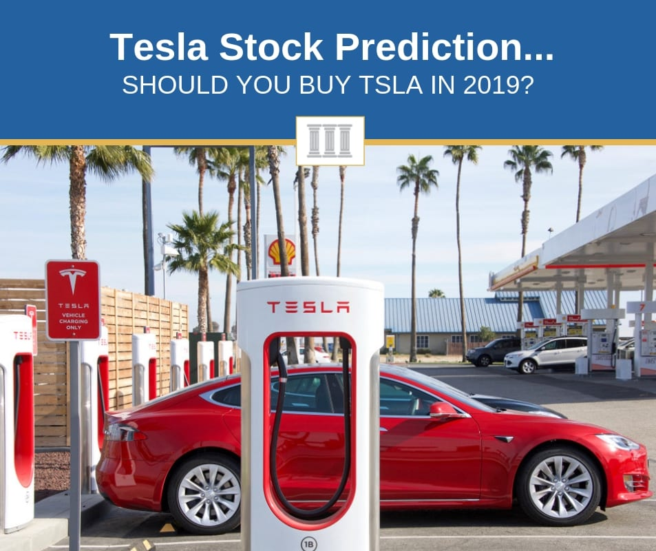 tesla stock prediction in 2019