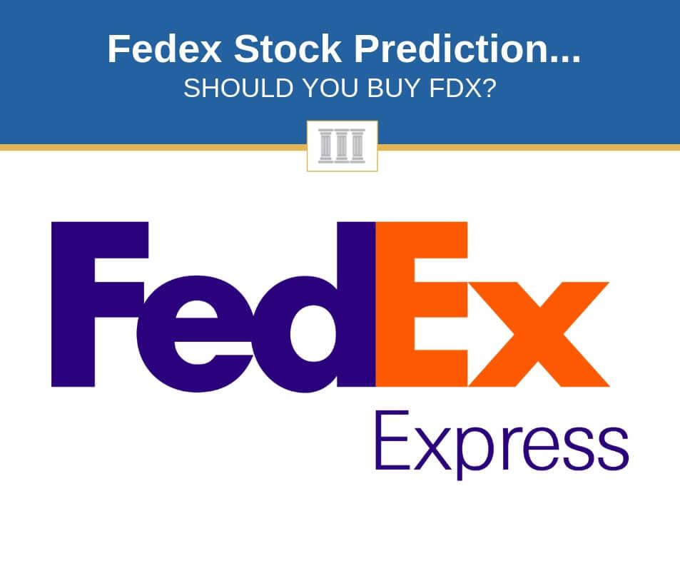 fedex stock price prediction