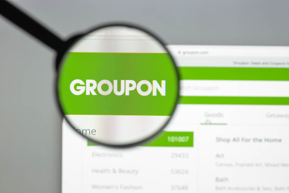 groupon stock growth information