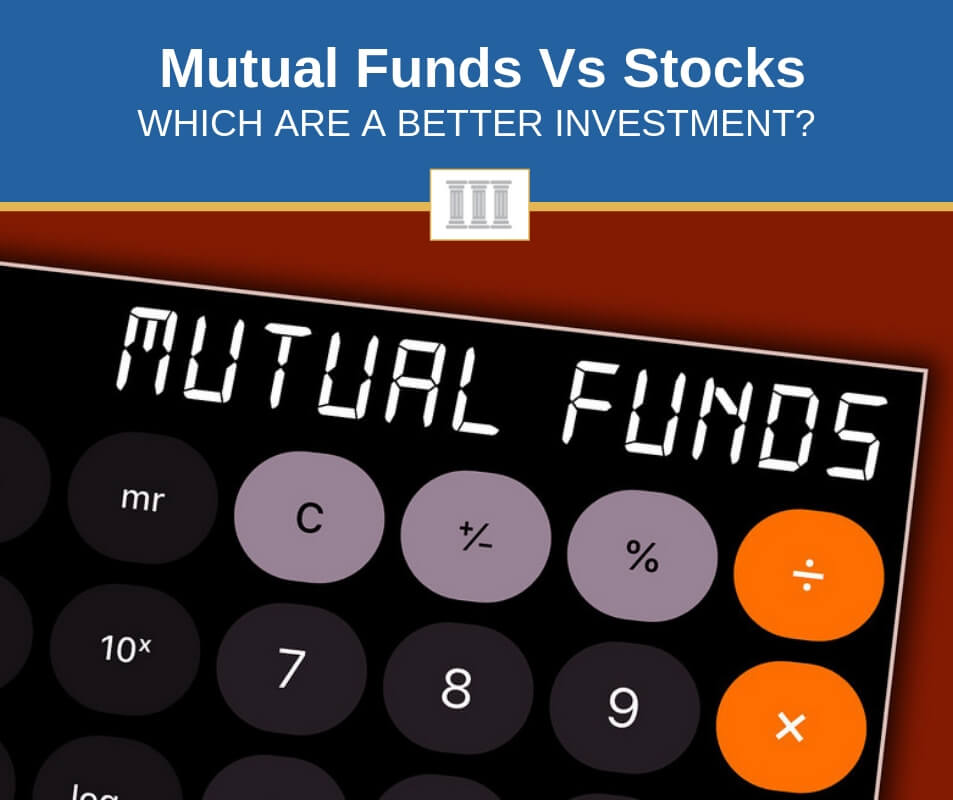 mutual funds vs stocks compared