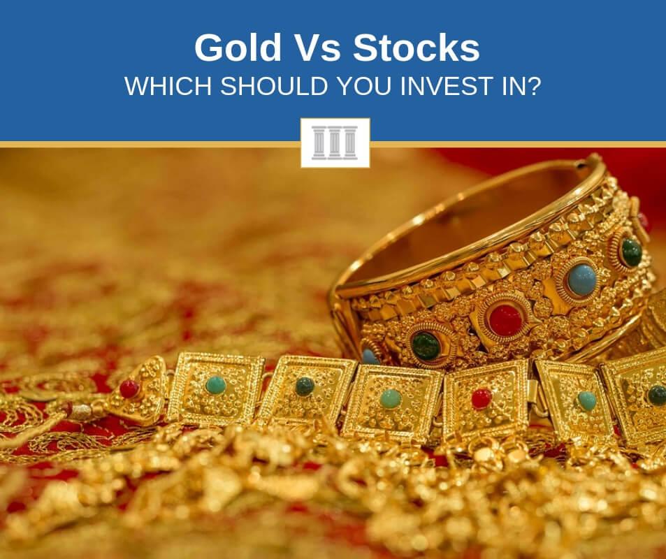 gold vs stocks differences comparison
