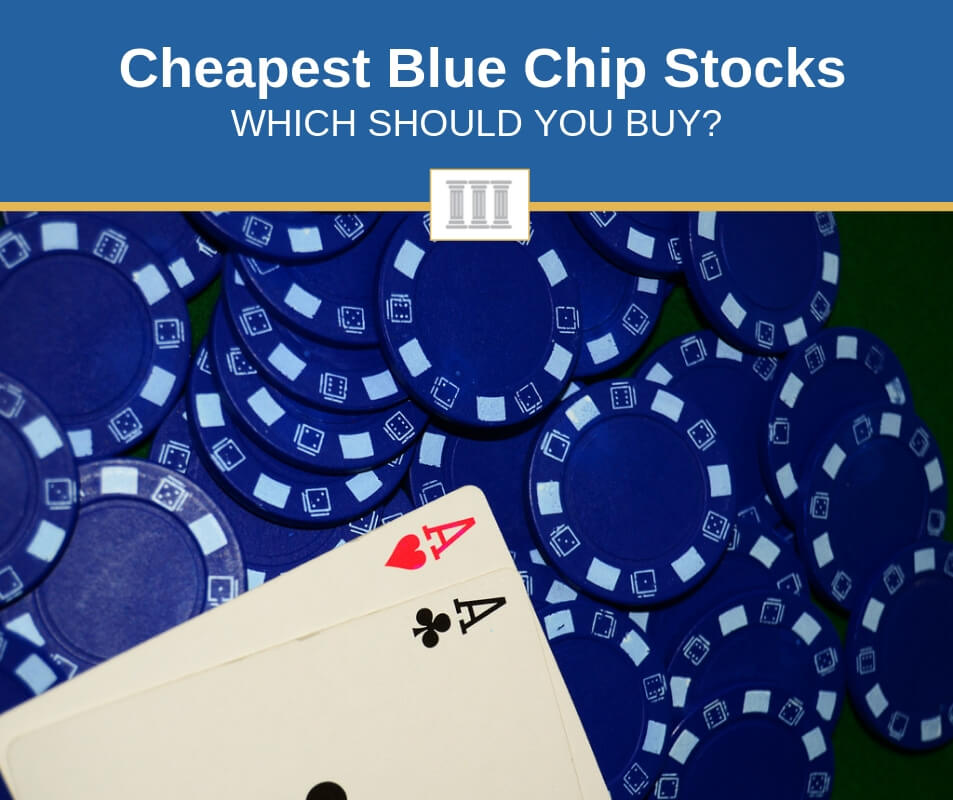 Cheapest blue chip stocks to buy right now