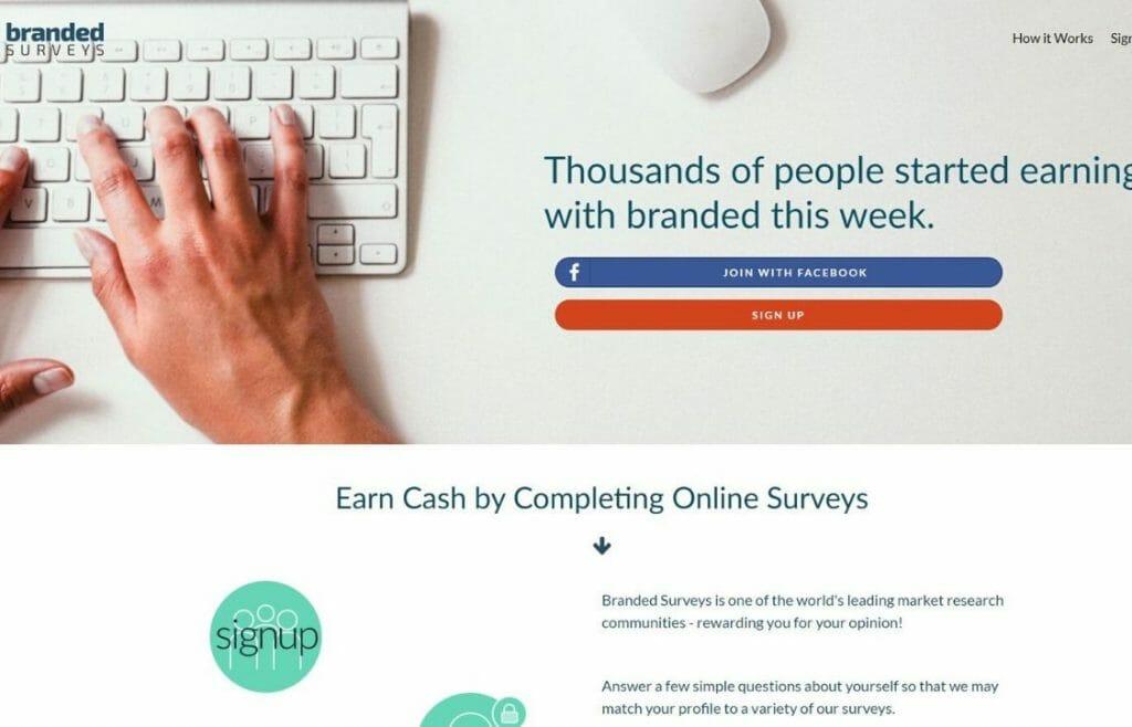 Branded Surveys review survey site